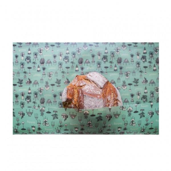Bienenwachstuch Brotwachsling - Zimmeroase