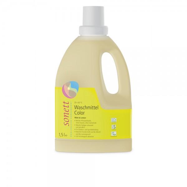 Waschmittel Color Mint & Lemon Sonett