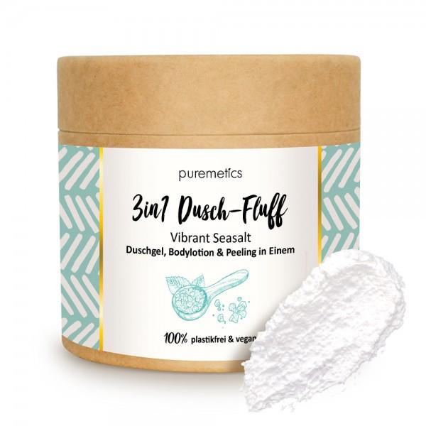 3in1 Dusch-Fluff Vibrant Seasalt mit Meersalzpeeling
