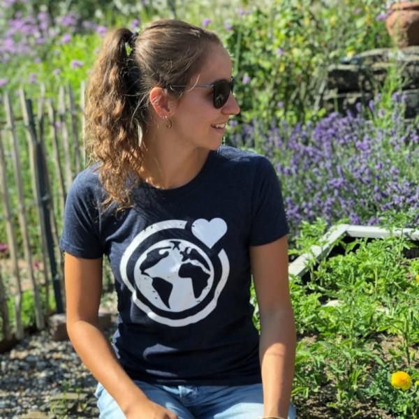 T-Shirt Große Murmel- recycelt (dunkelgrau)