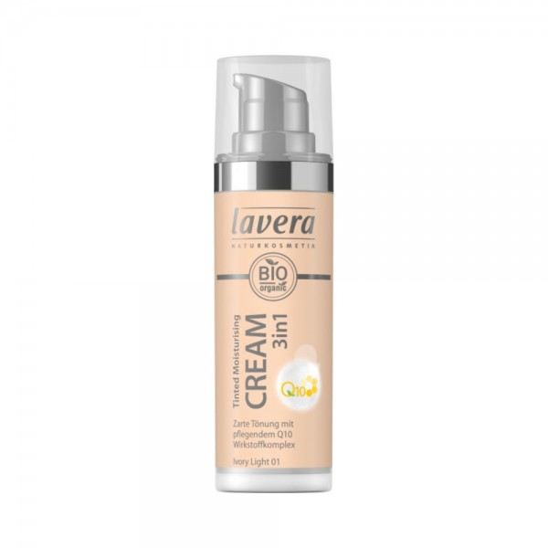 Tinted Moisturising Cream 3in1 Q10 -Ivory Light 01- Lavera