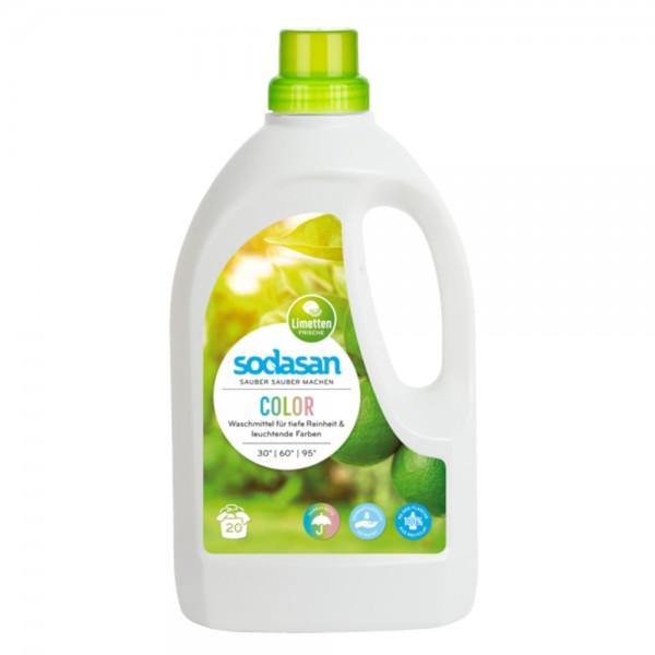 Color Flüssigwaschmittel Limette Sodasan