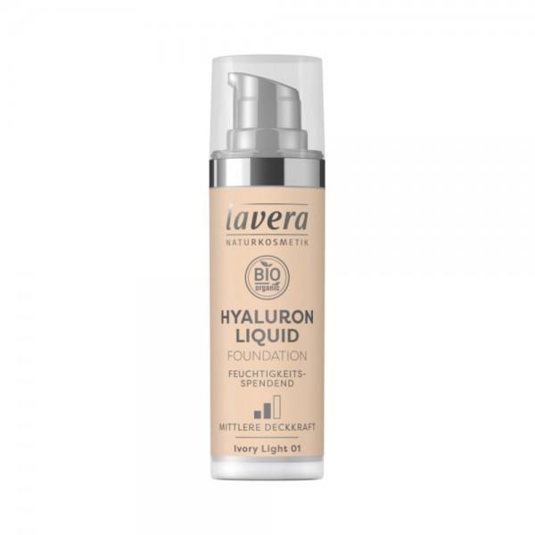 Hyaluron Liquid Foundation -Ivory Light 01-Lavera