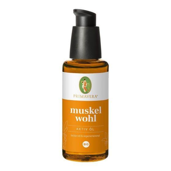 Muskelwohl Aktiv Öl bio Primavera