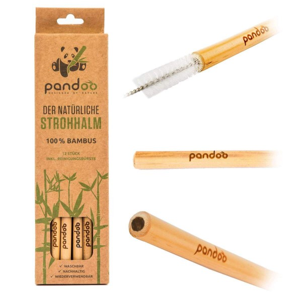Bambus Cocktail Strohhalm
