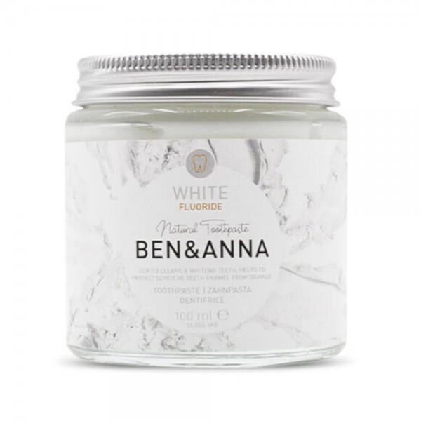 Ben & Anna Zahnpasta mit Fluorid - White