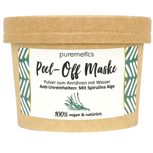 Peel-Off Maske Anti-Unreinheiten - mit Spirulina Alge