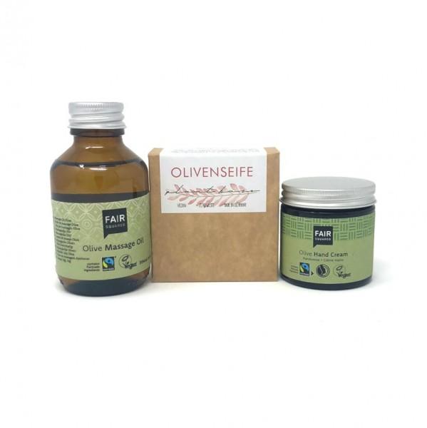 Körperpflege-Set Olive