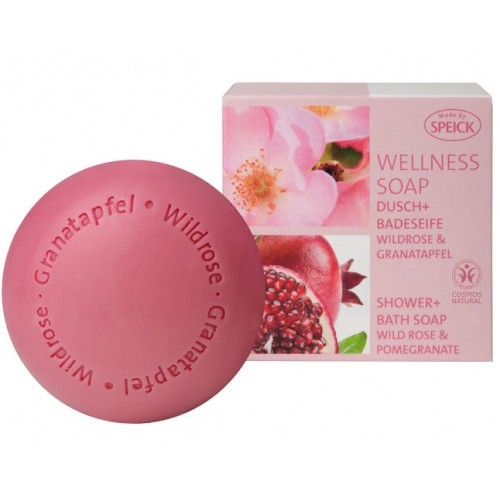 Wellness Soap Wildrose & Granatapfel