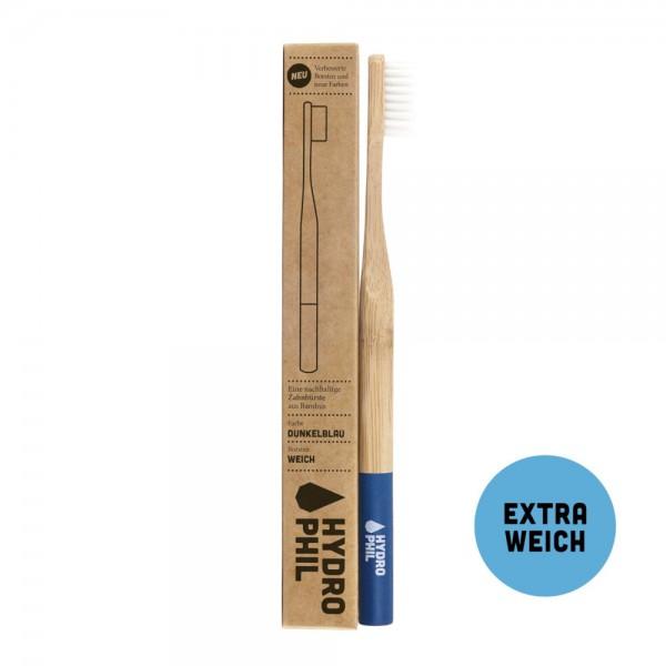 Zahnbüste Bambus extra weich - blau