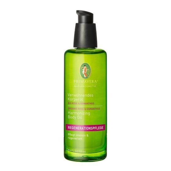 Verwöhnendes Körperöl Bio Rose & Osmanthus Primavera