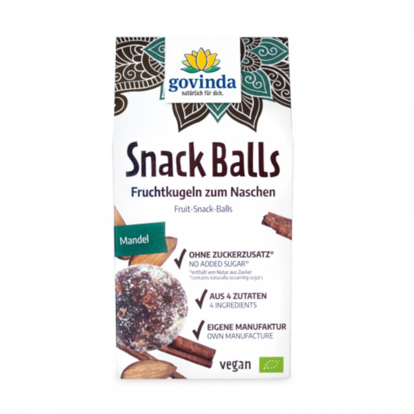 Snack Balls Mandel