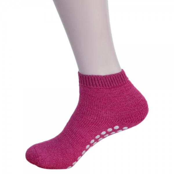 Wellness/Yoga Stoppersocken Himbeere