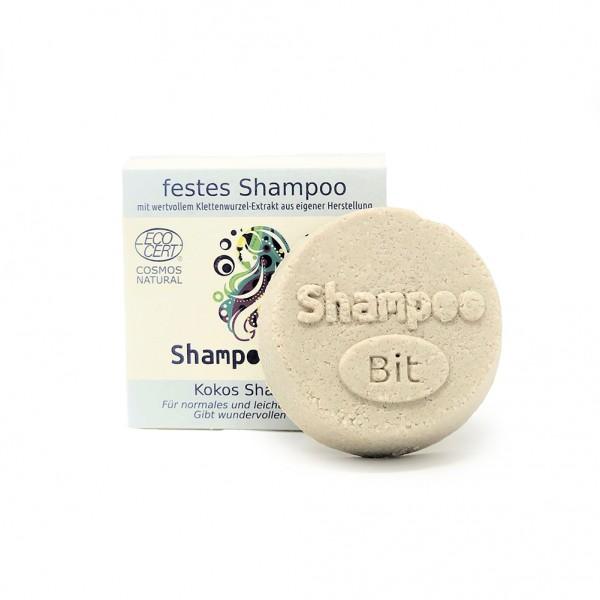 Rosenrot ShampooBit fettiges Haar - Kokos-Vanille