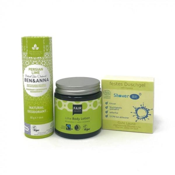 Körperpflege-Set Lime