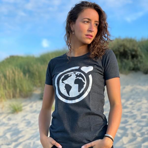T-Shirt Große Murmel - dunkelgrau