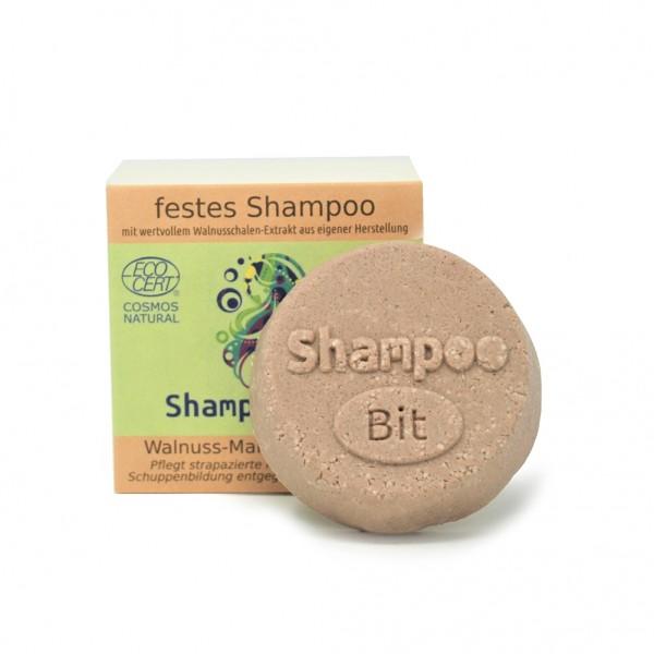 ShampooBit dunkles Haar - Walnuss-Mandel