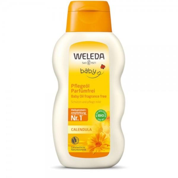 Calendula Pflegeöl Parfümfrei Baby Weleda