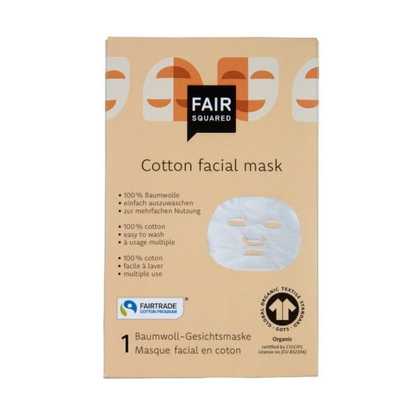 Gesichtsmaske aus Bio-Baumwolle