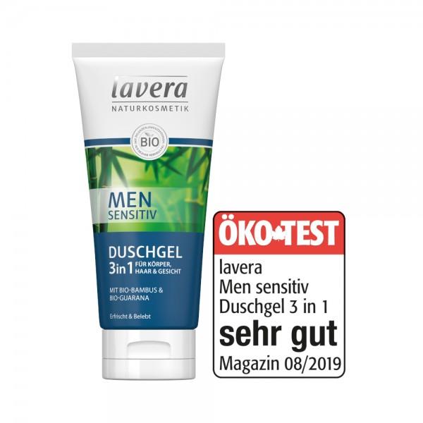 Men Sensitiv Duschgel 3in1 Lavera