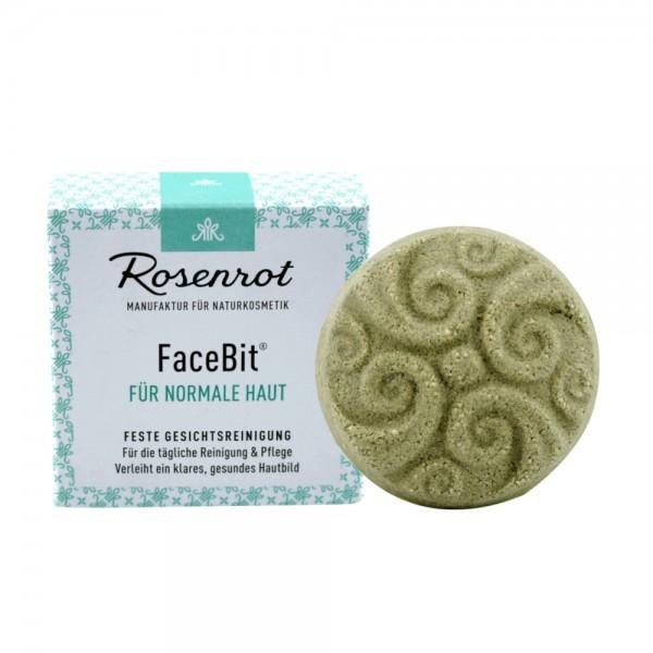 FaceBit - feste Gesichtsreinigung | Rosenrot