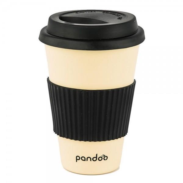Bambus Kaffeebecher - weiss