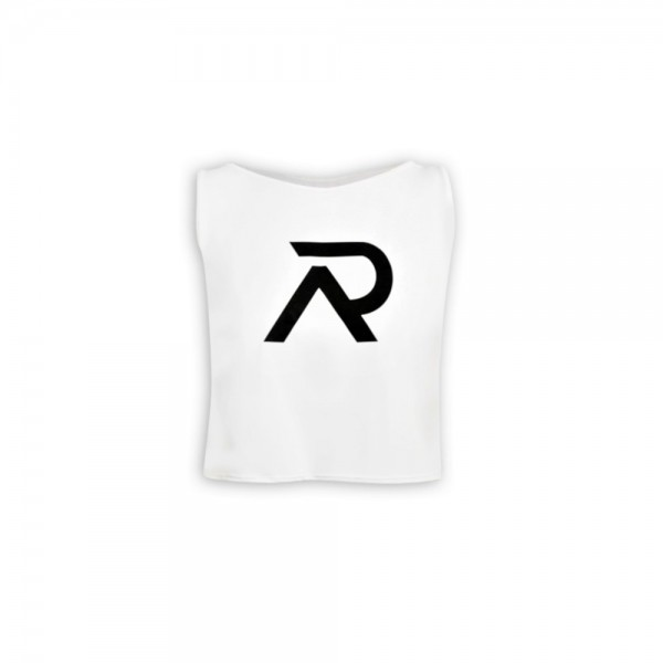 Re-Athlete White Crop Top