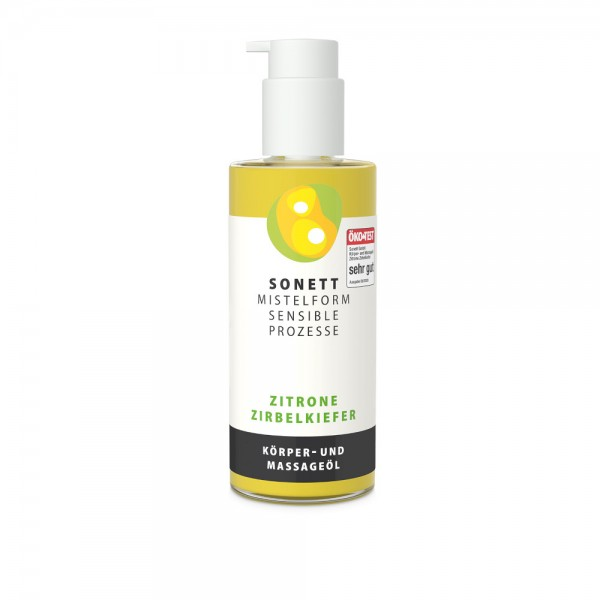 Körper- und Massageöl Zitrone-Zirbelkiefer Sonett