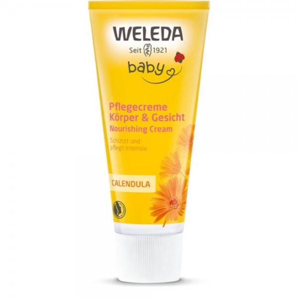 Calendula Pflegecreme Körper & Gesicht Baby Weleda