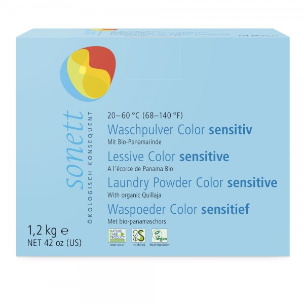 Waschpulver Color Sensitiv Sonett