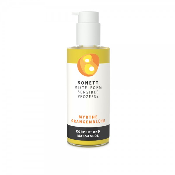 Körper- und Massageöl Myrthe Orangenblüte Sonett