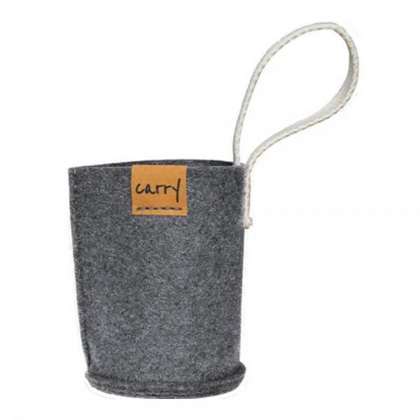 Carrybottle Sleeve 0,4 - grau