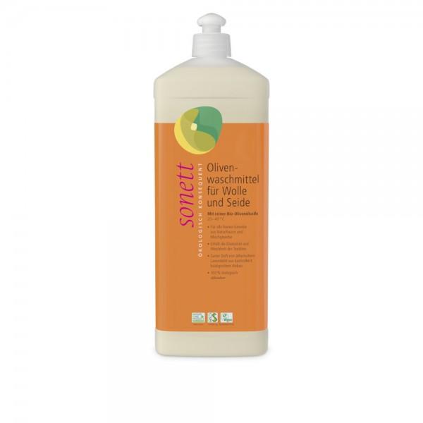 Olivenwaschmittel für Wolle und Seide Sonett