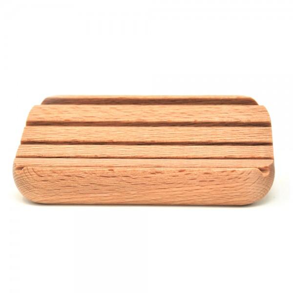 Seifenunterlage Holz - gerundet