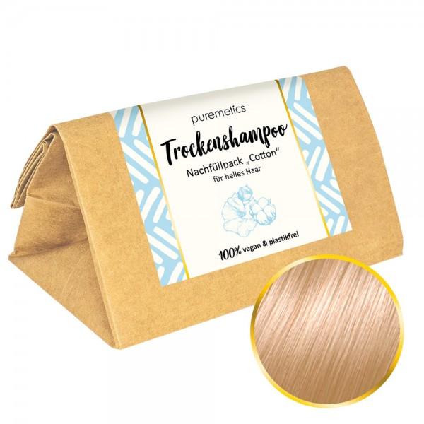 Nachfüllpack Trockenshampoo helles Haar - Cotton