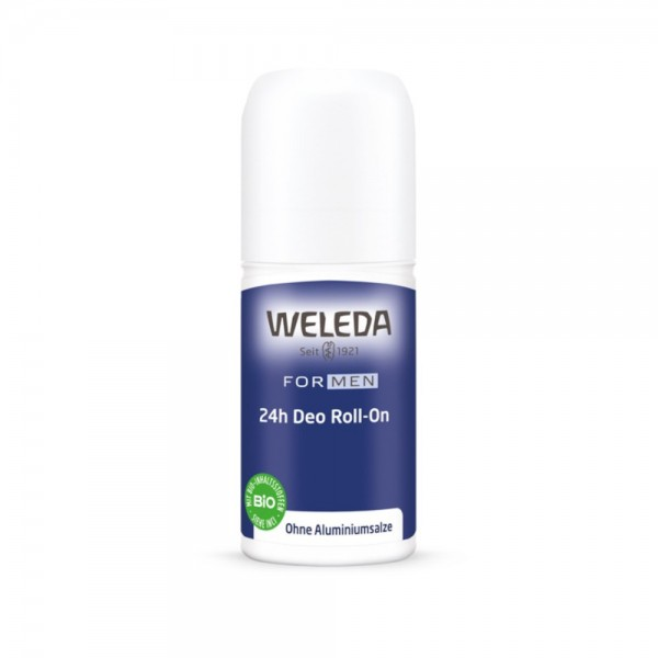 FOR MEN 24h Deo Roll-On Weleda