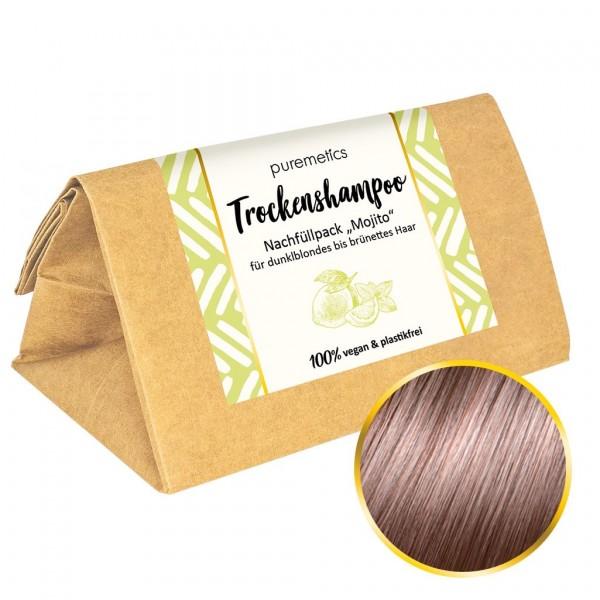 Nachfüllpack Trockenshampoo dunkelblondes bis brünettes Haar - Mojito