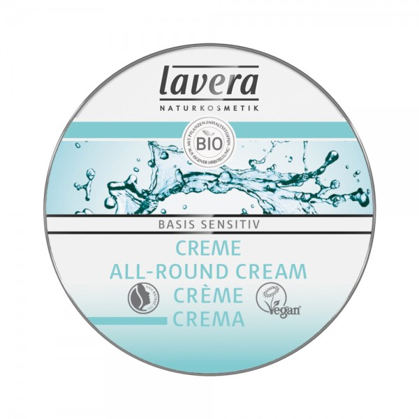 basis sensitiv Creme Probiergröße (MHD 01.09.2021) Lavera