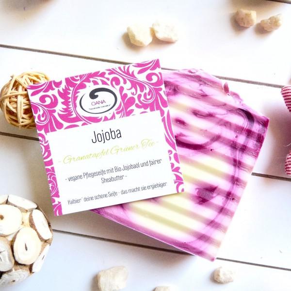 Seife Jojoba Granatapfel Grüntee