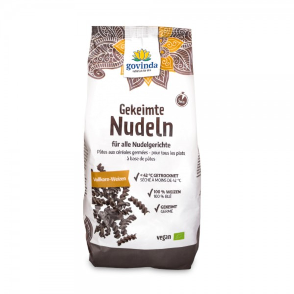 Gekeimte Nudeln Vollkorn-Weizen