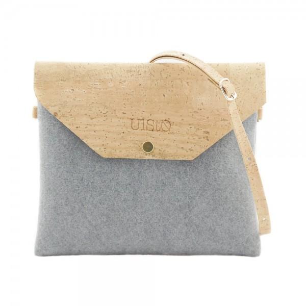 UlStO Handtasche Marila - grau
