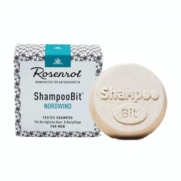 Rosenrot ShampooBit für Männer - Nordwind