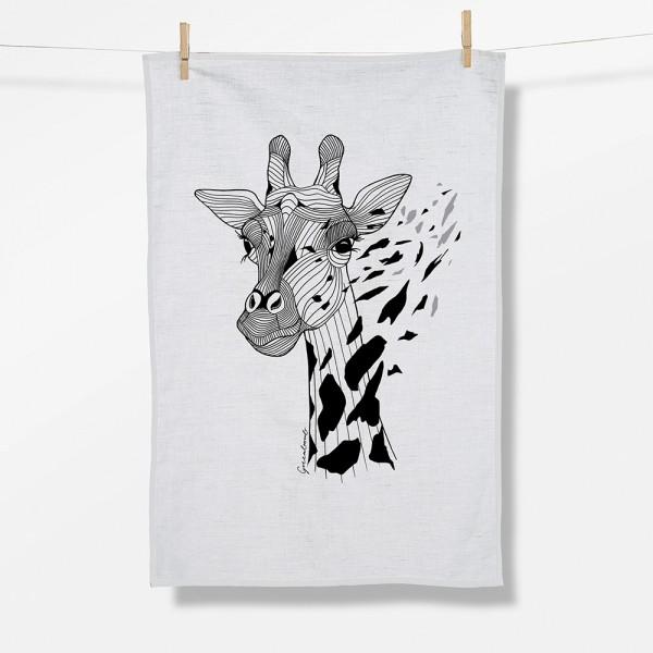 Geschirrtuch - Giraffe