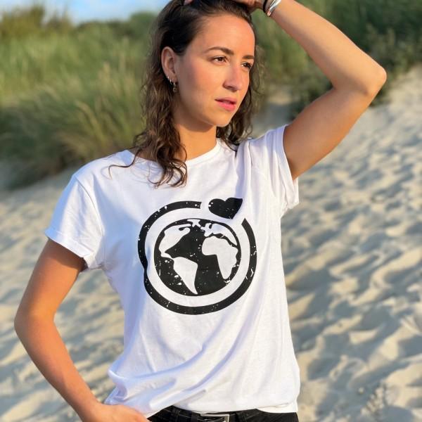 T-Shirt Große Murmel - weiß