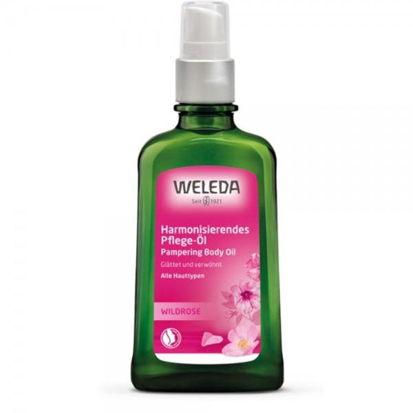 Wildrose Harmonisierendes Pflege-Öl Weleda