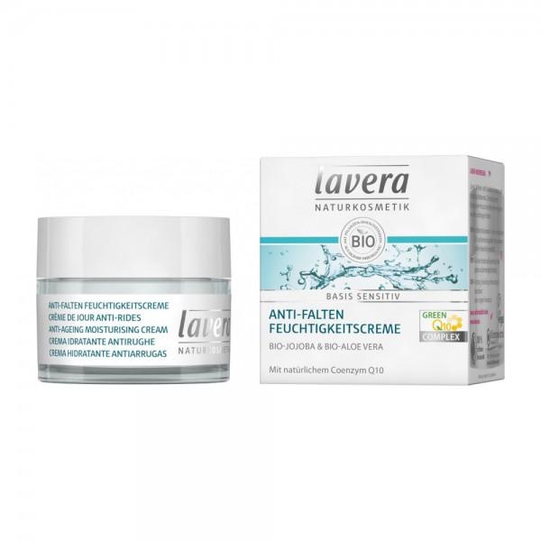 basis sensitiv Anti-Falten Feuchtigkeitscreme Q10 Lavera