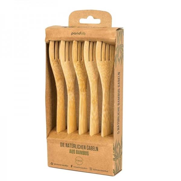 Gabeln aus 100 % natürlichem Bambus