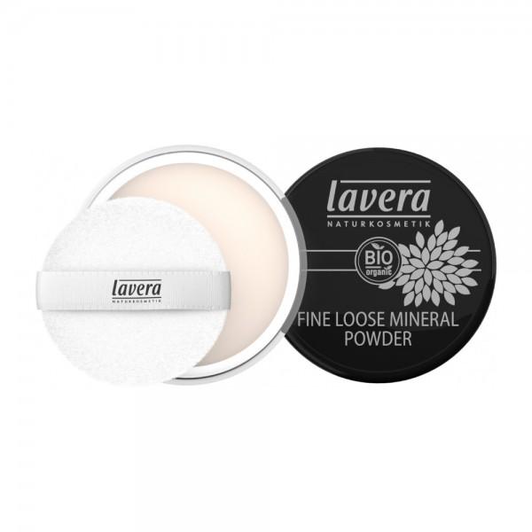 Fine Loose Mineral Powder -Transparent-Lavera