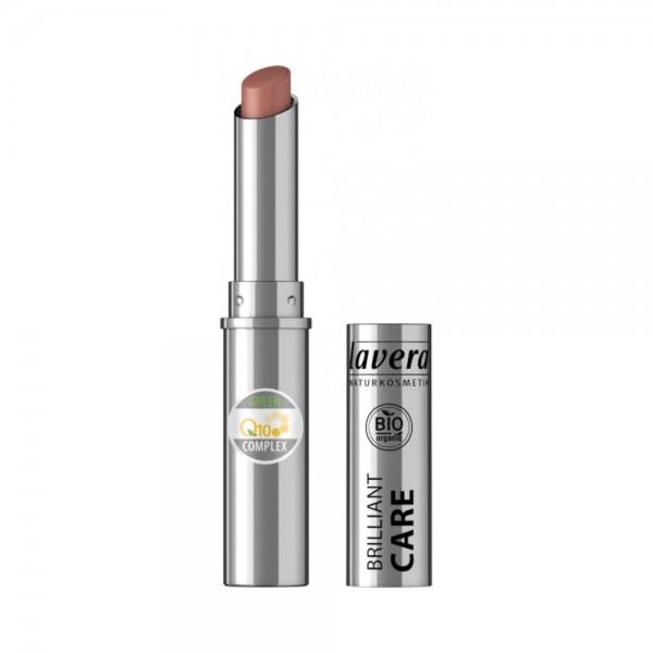 Beautiful Lips Brilliant Care Lipstick Q10 -Light Hazel 08-Lavera
