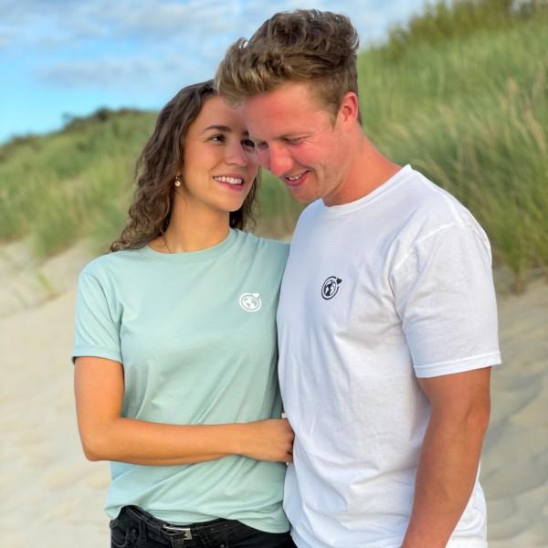 Unisex T-Shirt Kleine Murmel - ocean